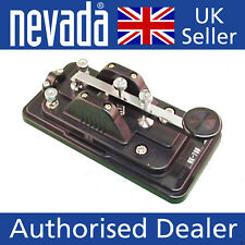 Hi-Mound HK-708 Deluxe straight Morse code key TOP SELLER