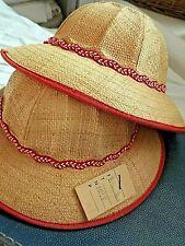 1 Ancien Chapeau de paille enfant 1950 Vintage