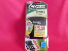 Energizer e2 rechargeable compact charger. Aa/Aaa. New! Free Shipping!