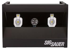 Sig Sauer - Pistol / Rifle Pellet Shooting Gallery Airgun Target w/ Reset- Metal