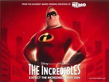 Disney's The Incredibles movie poster - Pixar - Mr Incredible movie poster