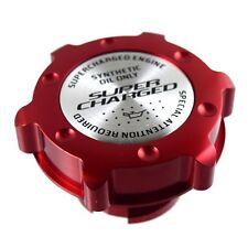 Red Oil Cap Filler Racing Billet Aluminum Fits LS1 LS2 LS3 LS6 Super Charged