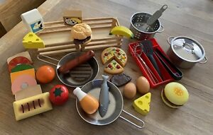 KITCHEN PLAY FOOD MELISSA & DOUG/IKEA WOODEN