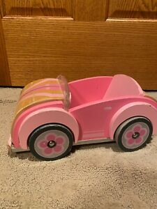 Solid Wood Doll Car Barbies fit!