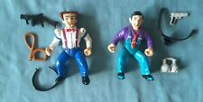 New listing Vintage Dick Tracy Flat Top & Big Boy Figures, Playmates 1990 Excellent
