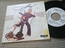 "DOLLY PARTON SPANISH 7"" SINGLE SPAIN WHITE LABEL RCA 81 - 9 TO 5 - BSO"