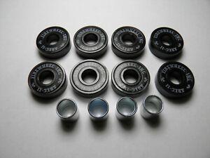 8 x Firewheel-inc ABEC 11 SCOOTER SKATEBOARD BEARINGS *NEW* BLACK SHIELDS