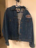 VINTAGE 1990's Starter NFL Sport Denim Super Bowl 30 XXX Arizona Jacket M