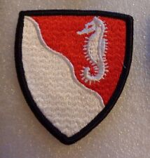 ARMY PATCH, 36TH ENGINEER BRIGADE, FULL COLOR,  WAVY LINES