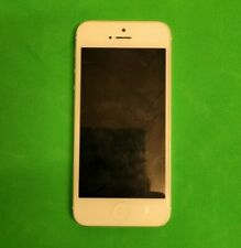 Apple iPhone 5 (32GB) - Silver - (Unlocked) - Excellent Condition - Fast Del!