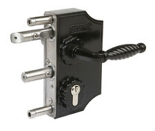 New Generation Decorative Locinox Gate Lock to Suit 40-50mm Box Section