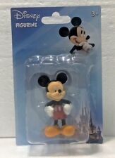 """Disney MICKEY MOUSE CAKE 2"""" FIGURE FIGURINE TOPPER TOY NEW IN PACKAGE PARKS"""