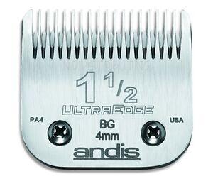 "Andis UltraEdge 1 1/2 (1.5) Detachable Clipper Blade # 64077 5/32"" 4mm NEW"