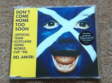 Del Amitri Don't Come Home Too Soon CD UK A&M 1998 4 Track Limited Edition
