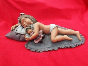 "ELISA ""Siesta"" 9190 Young Girl Asleep Limited Edition Boxed Figurine"