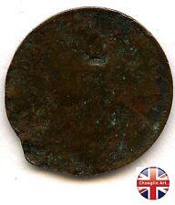 A British Bronze 1860 VICTORIA FARTHING Coin                    (Ref:1860_880/1)