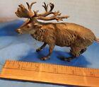 Antique Austrian Bronze Elk or Stag. MAGNIFICENT Detail.  COLD PAINTED. LOOK!!!