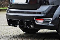 Sonderaktion Heckansatz Diffusor aus ABS Ford Focus ST DA3 VFL Eintragungsfrei