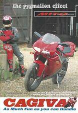 Cagiva Mito 125cc - Original 1995 Vintage Single page Magazine Advert