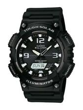Casio Collection solar reloj hombre aq-s810w -1 avef analógico, digital negro
