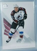 2017-18 SP Authentic #25 Nathan MacKinnon Colorado Avalanche