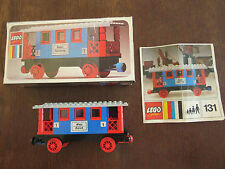 LEGO Eisenbahn alt 4,5V / 12V  Set 131 BDA OVP