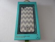 Kate Spade Genuine Flexible Hardshell Case For iPhone 6 iPhone 6S Chevron SL