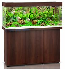 ACQUARIO JUWEL RIO 240 LED MARRONE SCURO COMPLETO CON SUPPORTO SBX TRE ANTE