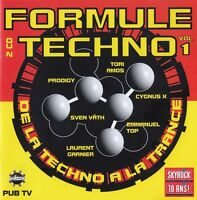 Compilation 2xCD Formule Techno Vol. 1 - France (EX/EX)