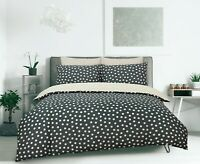 Polka Dot Duvet Cover Bedding Set - Single, Double, King Superking