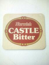 Vintage NORWICH / CASTLE BITTER  -  Cat No'12  Beermat / Coaster