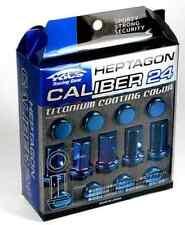 Project Kics 12X1.25 Titanium Blue Caliber Lug Nut