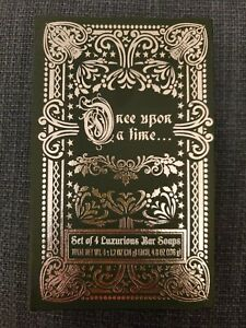 Set Of 4 Luxurious Bar Soaps In Gift Box Once Upon A Time Volume IV Green