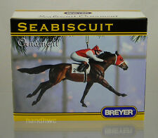 Breyer 10100 Seabiscuit Racehorse Triple Crown Christmas Horse Ornament - NIB