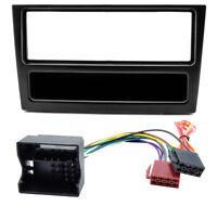 Radioblende Adapter Kabel Set für Opel Astra G Corsa C Zafira B Vectra schwarz