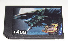 Capcom 4GB Sony PSP Memory Stick Pro Duo Memory Card Mark 2 Monster Hunter 3