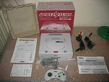 SEGA SATURN WHITE CONSOLE IMPORT JAP!UNIT IN MINT CONDITION!