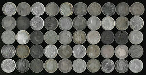 50 CANADA SILVER 5¢ (LATE 1800's to EARLY 1900's) SEE THE PICTURES > NO RESERVE