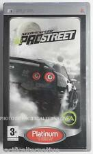 jeu NEED FOR SPEED PROSTREET Platinum sur sony PSP game spiel juego COMPLET nfs