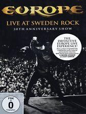EUROPE LIVE AT SWEDEN ROCK 30TH ANNIVERSARY SHOW DVD NUOVO SIGILLATO !!