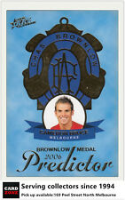 2006 AFL Supreme Brownlow Medal Predictor Card BP16 Cameron Bruce (Melbourne)