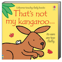 Usborne Touchy Feely Books Thats Not My Kangaroo(Board Book)  FREE shipping $35