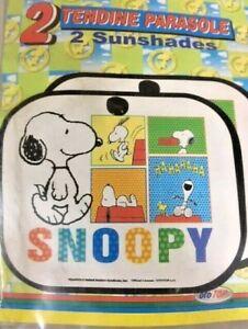 2 Petits Rideaux Parasol Voiture Snoopy Rideau Store Fenêtre Enfants Machine