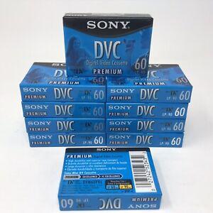 Sony DVC 60 Premium Mini DV Digital Video Cassette Tapes 10 Pack - DVM60PRL