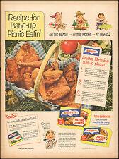 1952 Vintage ad for Bird's Eye`Chicken Fried Art Cartoon Nurse   (042617)