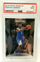 2019 Panini Prizm Zion Williamson ROOKIE CARD  RC PSA 9 MINT