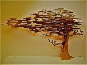 BIJAN WALL SCULPTURE WINDSWEPT TREE