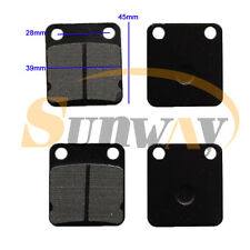 2 Rear Brake Pad for DYX XLR 125 Z140 140 160 CC M2R SS120 WPB LMX Pit Dirt Bike