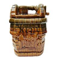 "Vintage McCoy Wishing Well ""Wish I had a Cookie"" Cookie Jar"