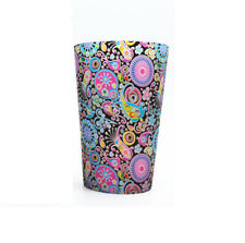 Unbreakable MugFood Grade Colored Silicone Wine Glass,Folding Travel mugs12.5oz